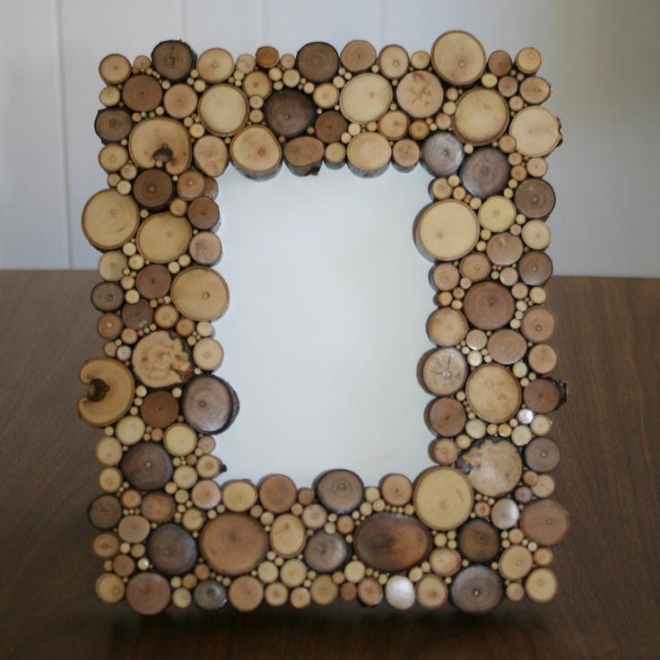Зеркало со спилами дерева