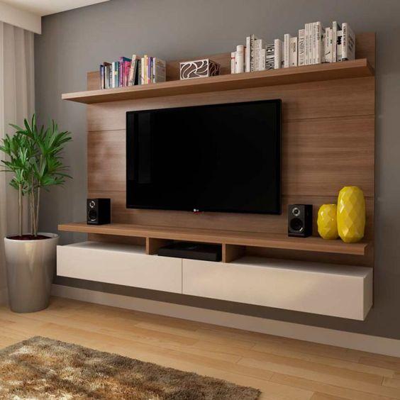 Современная компактная консоль для ТВ