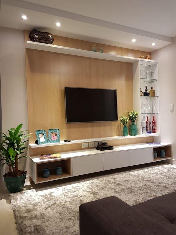 Современная стенка для телевизора
