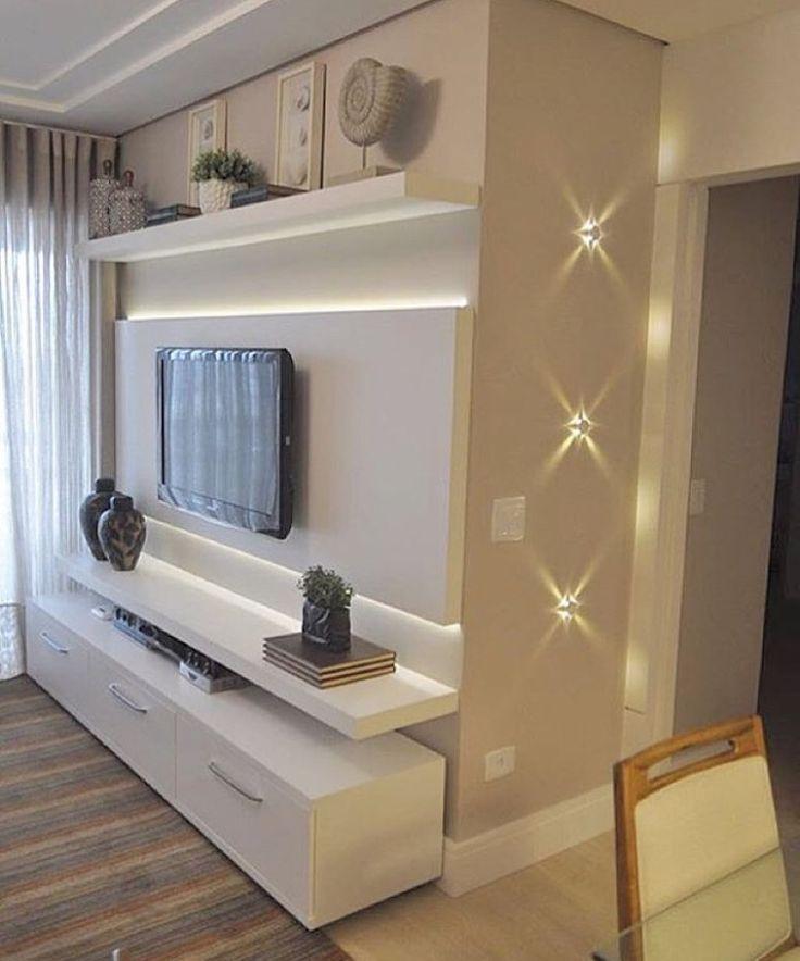 Современная консоль для ТВ с подсветкой