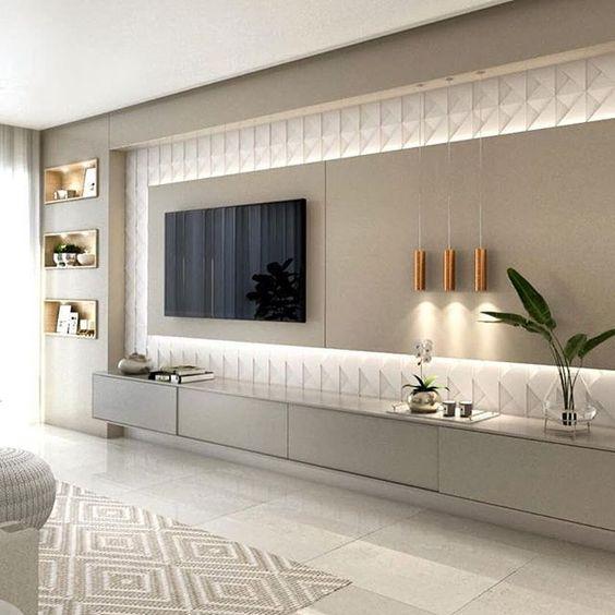 Современная стенка в гостиную