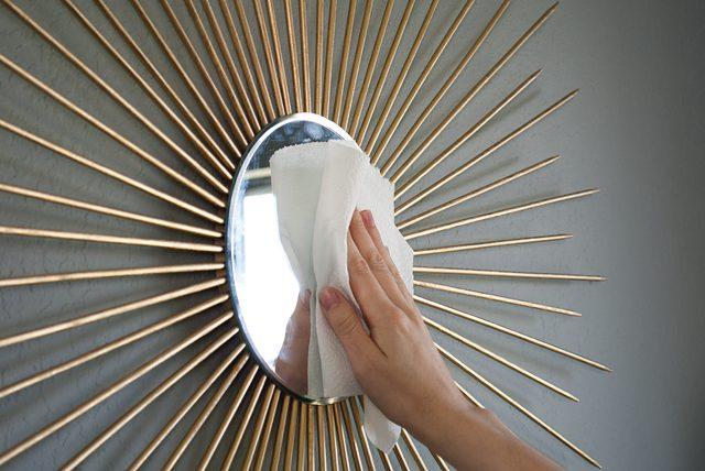 Зеркало солнце своими руками готово